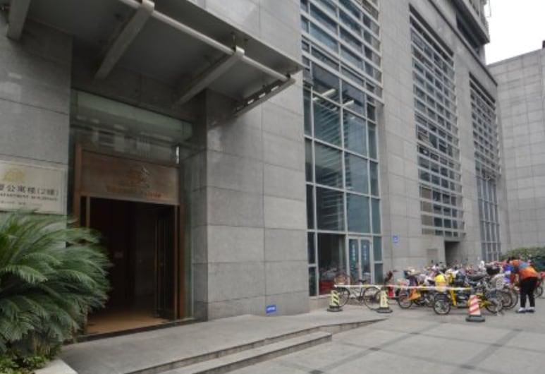 南京豪閣酒店公寓新街口店, 南京市, 住宿入口