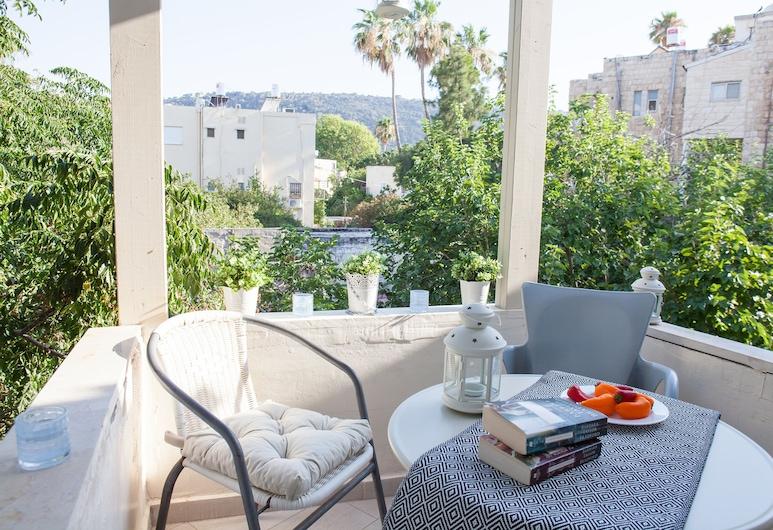 Apartments S&L 2, Haifa, Apartmán typu Comfort, 1 spálňa, Terasa