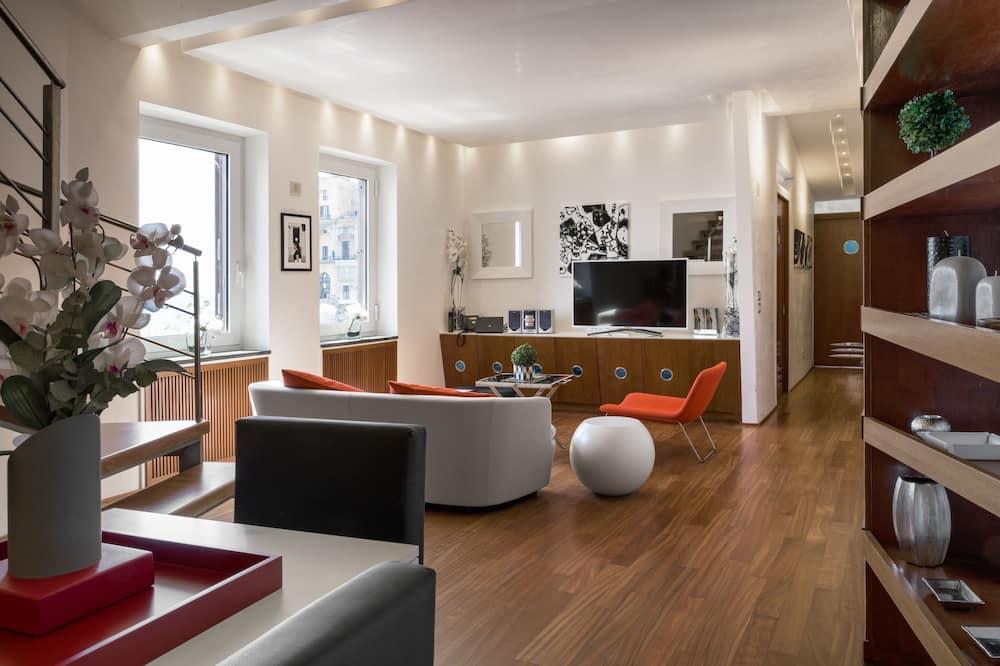 Appartamento, 2 camere da letto, vista mare - Soggiorno