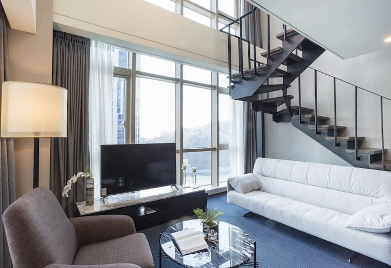 Centum Premier Hotel, Busan, Suite, sudut, Kamar Tamu
