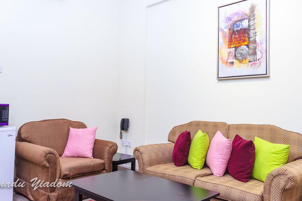 Studio – comfort, 1 dobbeltseng, handikappvennlig, ikke-røyk - Oppholdsområde