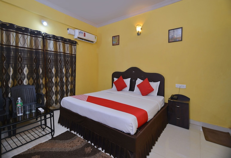 OYO 3723 Leela Inn, Candolim, Standard Double or Twin Room, 1 Double Bed, Private Bathroom, Guest Room