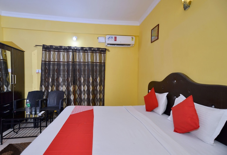 OYO 3723 Leela Inn, Candolim, Quarto Duplo ou Twin Standard, 1 cama de casal, Casa de Banho Privativa, Quarto