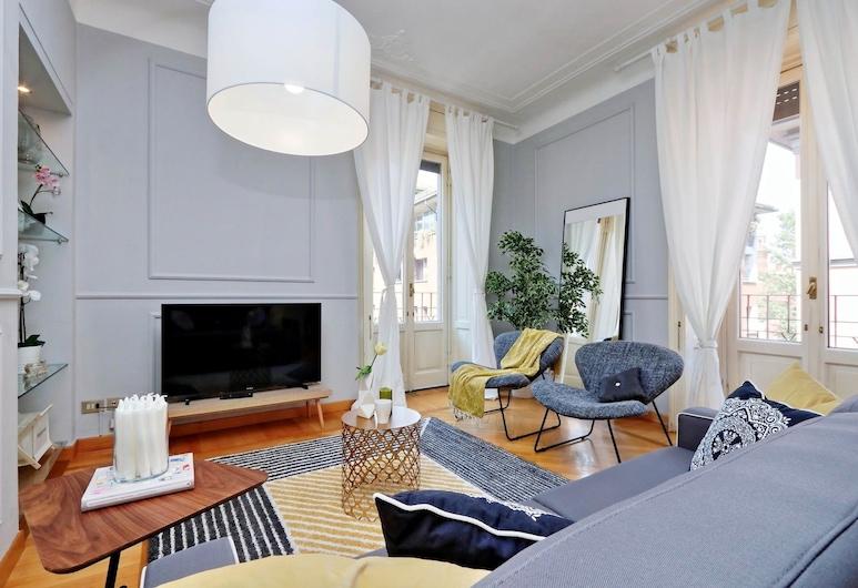 Altido Austere Elegance, Milano, Apart Daire, 2 Yatak Odası, 2 Banyolu, Oturma Alanı