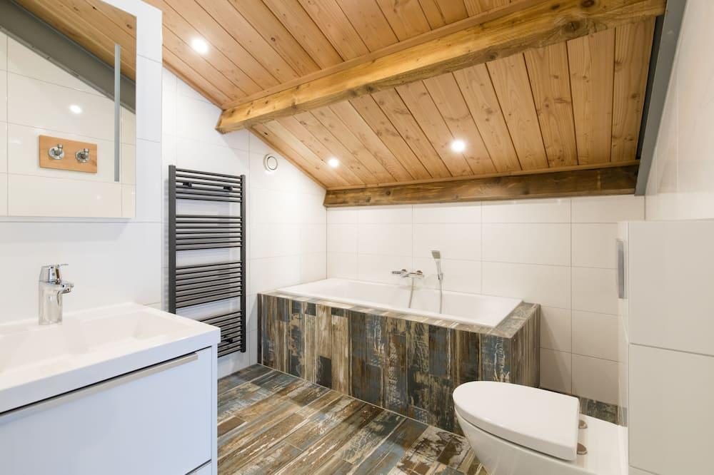 Suite, balcón (Op Zolder) - Baño