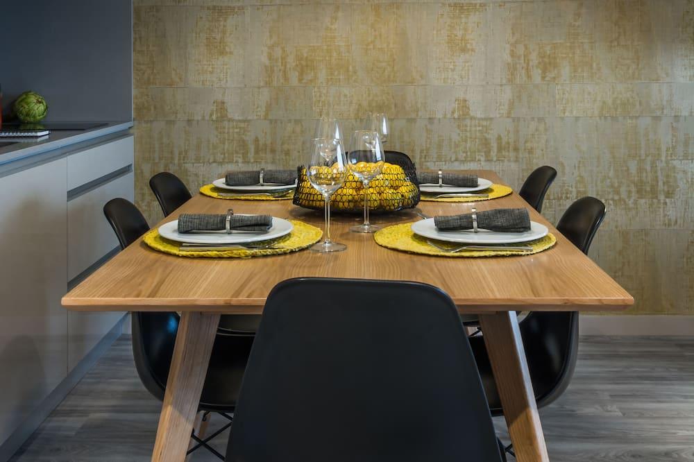 豪華公寓, 2 間臥室 (5.2) - 客房內用餐