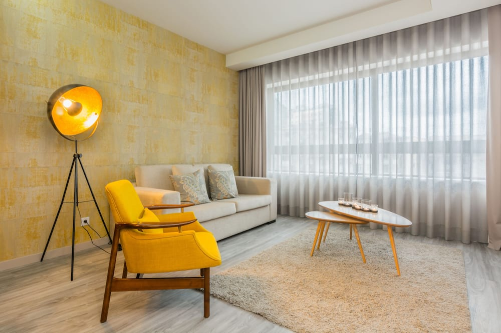 豪華公寓, 2 間臥室 (5.2) - 客廳