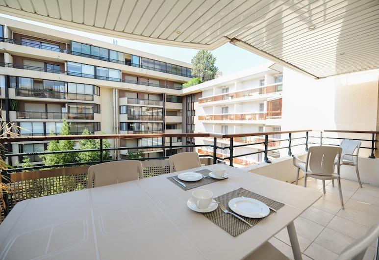 Pavillon Riviera 1 YourHostHelper, Cannes, Appartement (Pavillon Riviera 1), Terras