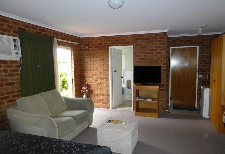 Inverloch Central Motor Inn, Inverloch, Chambre, baignoire à jets, côté cour intérieure (Spa Room with Courtyard), Chambre