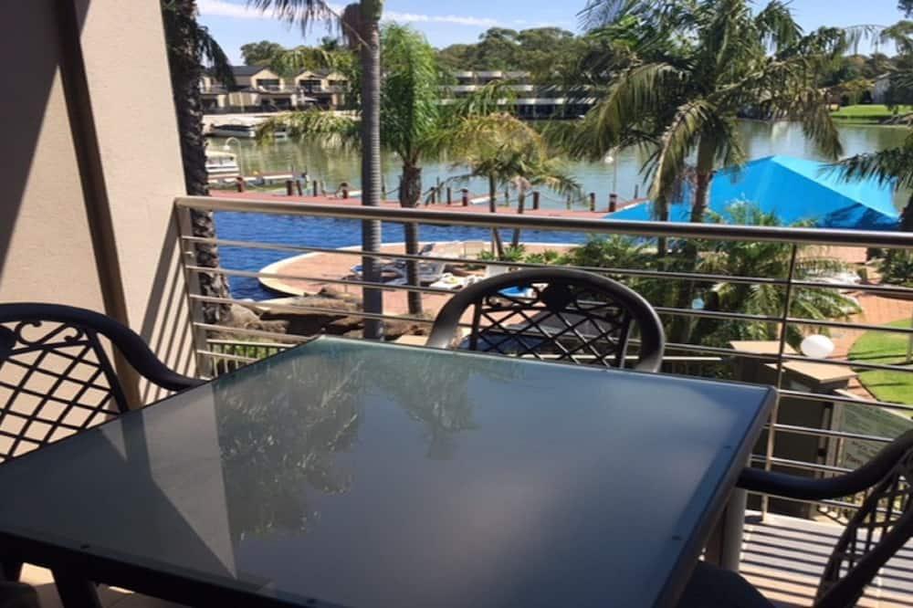 Luxe appartement, 2 slaapkamers, uitzicht op meer - Balkon