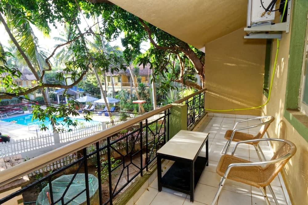 家庭別墅, 2 間臥室, 泳池景 - 露台