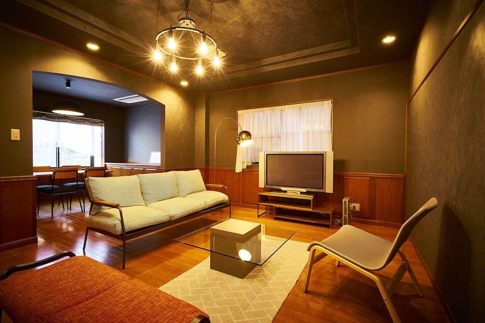 Camera Tradizionale con 2 letti singoli (Japanese Style, SANJO) - Soggiorno
