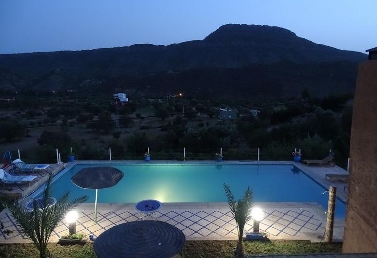 Riad de l'Olivier - In the mountains, Aqesri, Alberca al aire libre