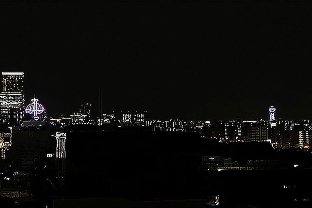 Deluxe-Dreibettzimmer - Blick auf die Stadt