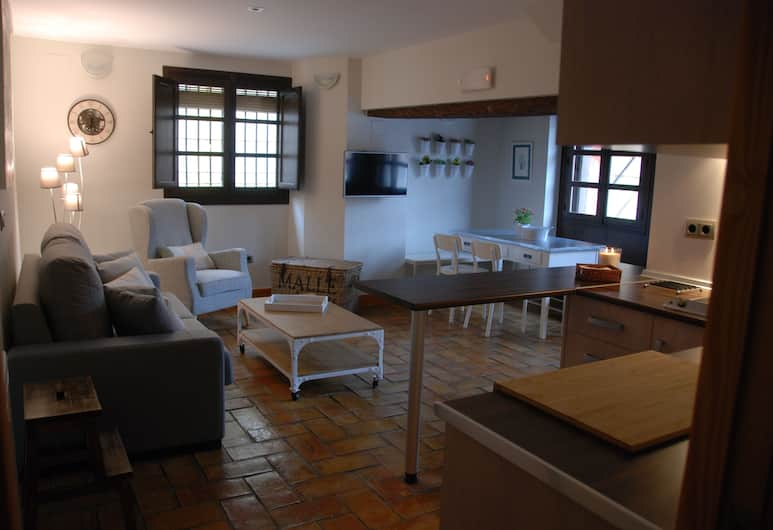 Aljara Corredera Apartment by JITKey, Córdoba, Lägenhet Superior - 1 sovrum, Vardagsrum