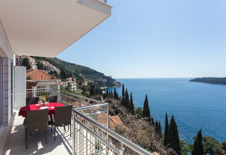Apartments Villa Ari, Dubrovnik, Superior Apartment, 3 Bedrooms, Balcony, Sea View, Balcony