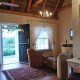 Habitación doble de lujo, vista al viñedo - Sala de estar