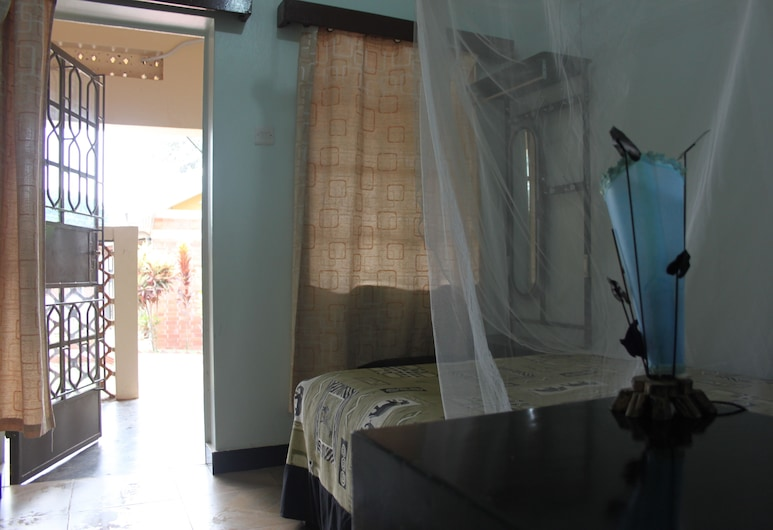 Serene Guest house, Entebbe, Eenvoudige eenpersoonskamer, 1 eenpersoonsbed, privébadkamer, Kamer