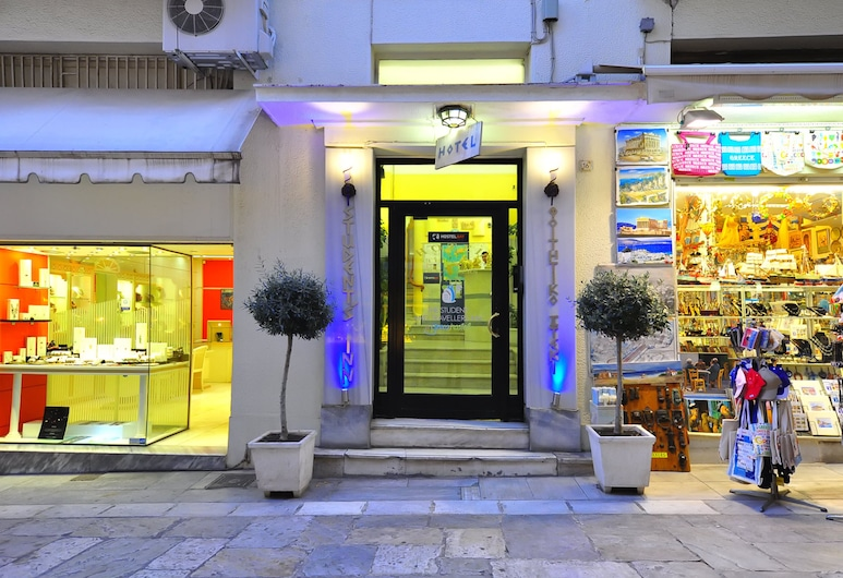 Students & Travellers Inn , Αθήνα, Είσοδος ξενοδοχείου