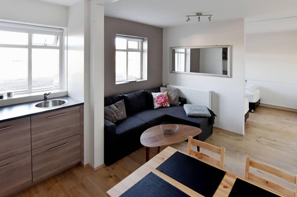 Estudio Confort (Apt 10) - Sala de estar