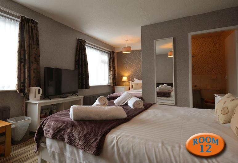 The Ransdale Hotel, Bridlington, Štandardný apartmán, vlastná kúpeľňa (1st floor room12(no lift)), Hosťovská izba