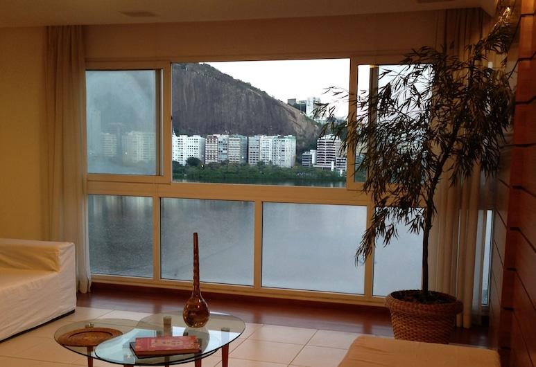 Maravilhoso Apto em Ipanema, Rio de Janeiro, Apartment (IPA06), Living Area