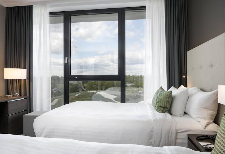 Courtyard by Marriott Wolfsburg, וולפסבורג, חדר, 2 מיטות יחיד, נוף, חדר אורחים