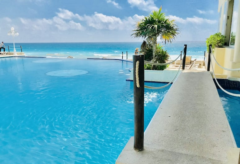 Ocean View Apartments – Delicia, Cancun, Panoráma medence