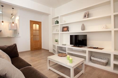 バルセロナの中心部にあるとても素敵な2ベッドルーム。/