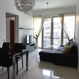 Premium-Apartment, 2Schlafzimmer - Essbereich im Zimmer