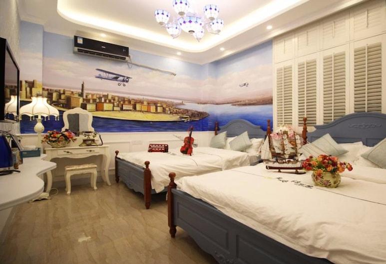 Xiamen Feisu Tianchunshe Holiday Villa, Xiamen, Kamar Keluarga, Kamar Tamu