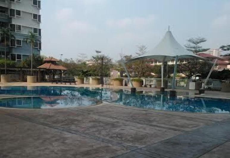 8 O Clock Lodge Condo Bandar Utama, Petaling Jaya, Vonkajší bazén