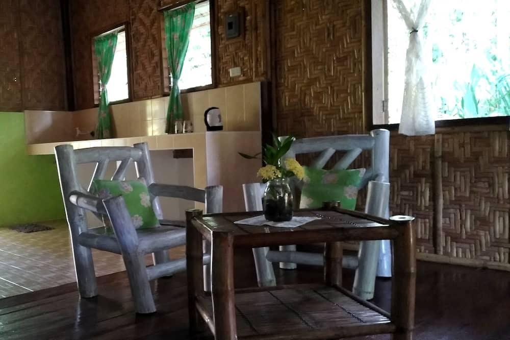 Green Villa, Bungalow  - Woonkamer