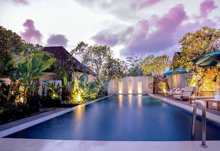 Rama Residence Petitenget Hotel, Seminyak, Piscina externa