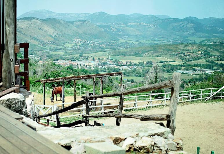 Agriturismo La Cerra, Tivoli, Viešbučio teritorija