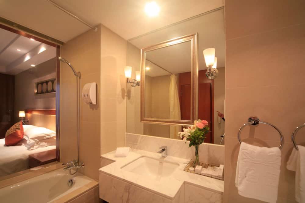 Executive-Doppelzimmer - Badezimmer