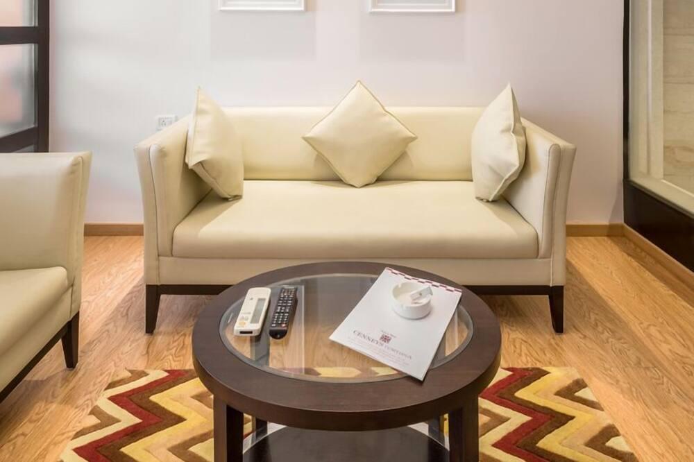 Apartmán typu Grand, 1 dvojlôžko - Obývacie priestory