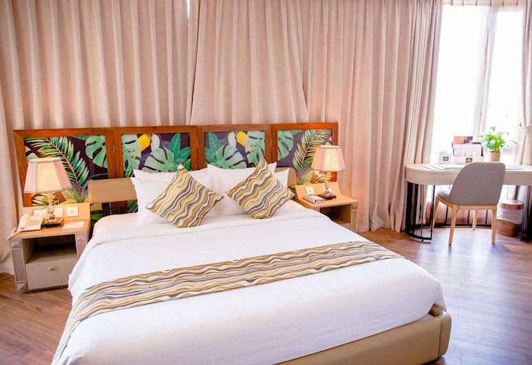 Papaya Saigon Central Hotel, Ho Chi Minh City, Svit, Gästrum