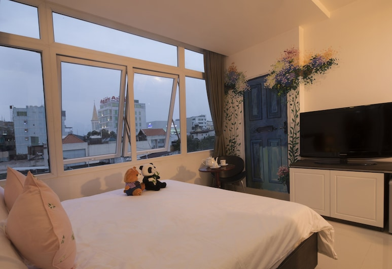 Full House Homestay, Ho Chi Minh City, Comfort Room, 1 King Bed, City View, Guest Room