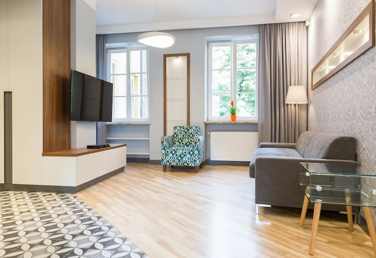 Apartament Old Town by City Quality, Warsaw, Premium Apartment, 1 Bedroom, Living Room
