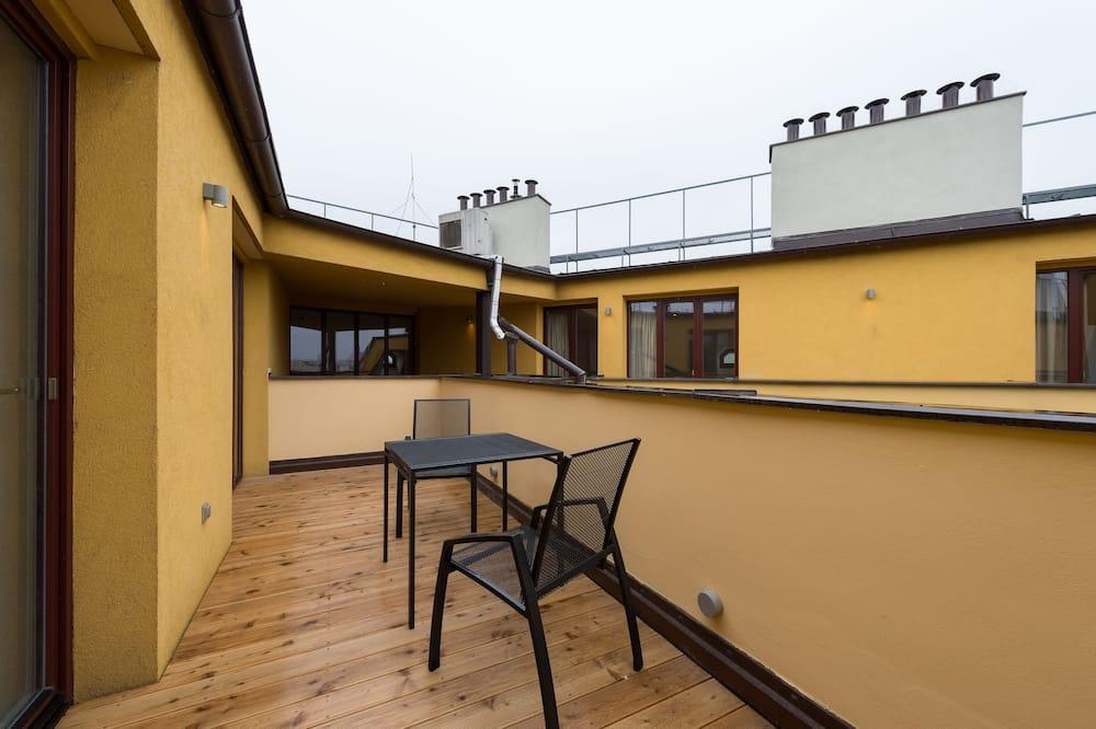 Apartmán, 4 ložnice (Vodickova 9) - Balkón