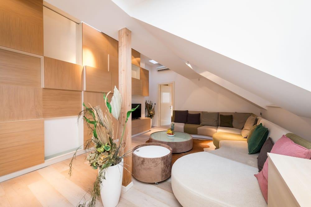 Apartmán, 3 ložnice (Selected at Check-in) - Obývací prostor