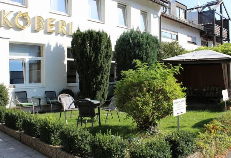 Hotel Pension Köberl, Munich, Hotel Entrance