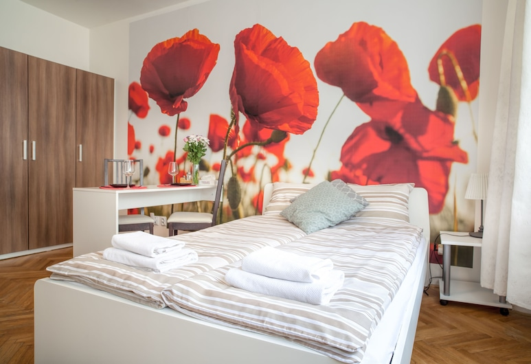 Charles Square  ApartMeet, Praga, Monolocale comfort, Camera