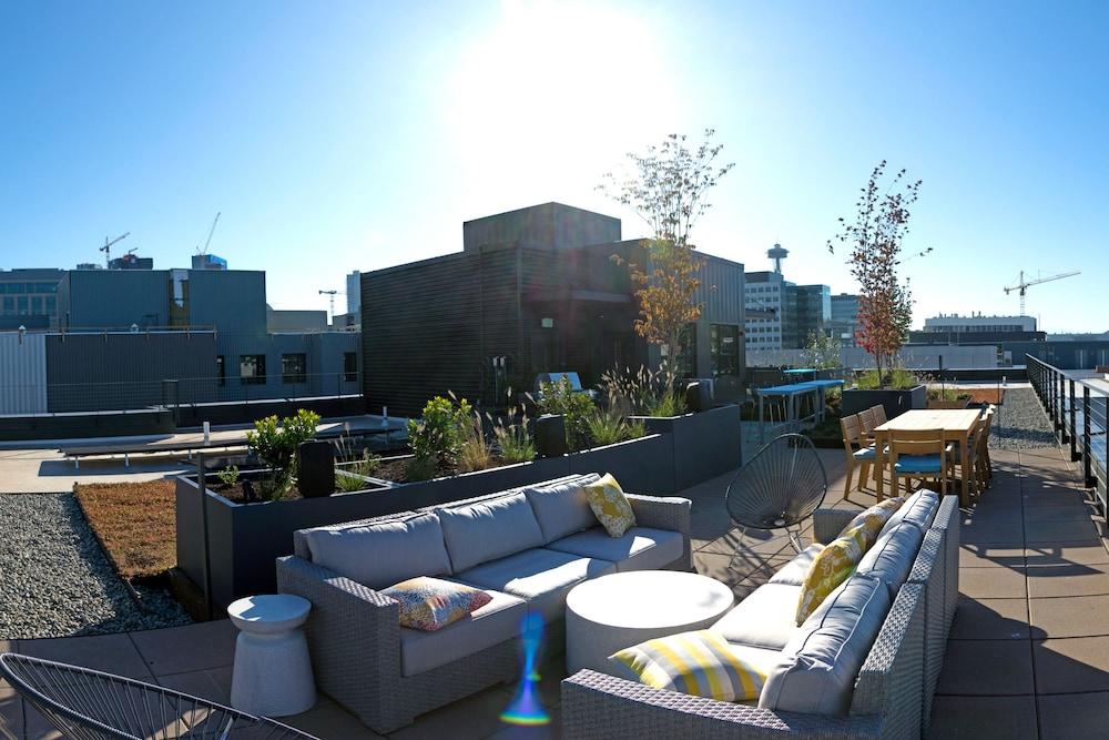 South Lake Union Boutique Apartments Seattle Terrace Patio