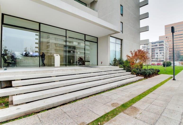 拉斯孔德斯中央開放式公寓酒店, Santiago, 住宿入口