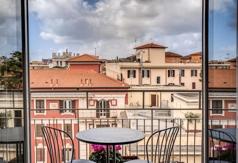 Colonna Suite - San Giovanni, Roma, Appartamento, 1 camera da letto, cucina, Area soggiorno