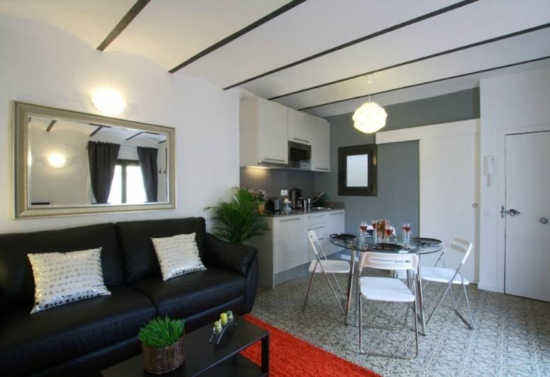 홈&펀 아틱 산츠 트레인 스테이션, 바르셀로나, 펜트하우스, 침실 1개, 거실 공간