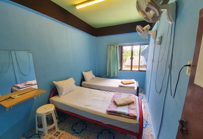 Good Dream Guesthouse - Hostel, Krabi, Standaard Twin kamer, gemeenschappelijke badkamer (Fan), Kamer