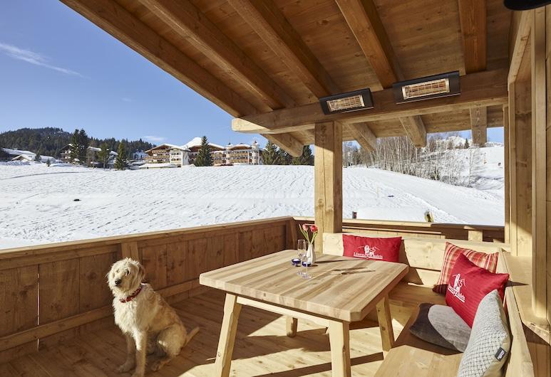 Löwen Chalets, Seefeld in Tirol, Chalet Deluxe, 3 camere da letto, non fumatori, vista montagna, Balcone